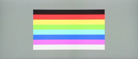 ASUS TUF Gaming VG34VQL1B Color Bleed Horizontal