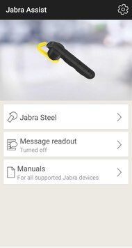 Jabra Steel Bluetooth Headset App Picture