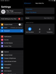 Beats Solo Pro Wireless App Picture