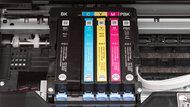 Epson Expression Premium XP-7100 Cartridge Picture In The Printer