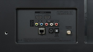LG UH6100 Rear Inputs Picture