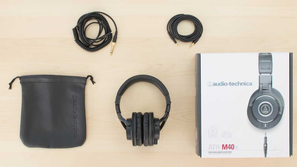 Audio-Technica ATH-M40x In the box Picture