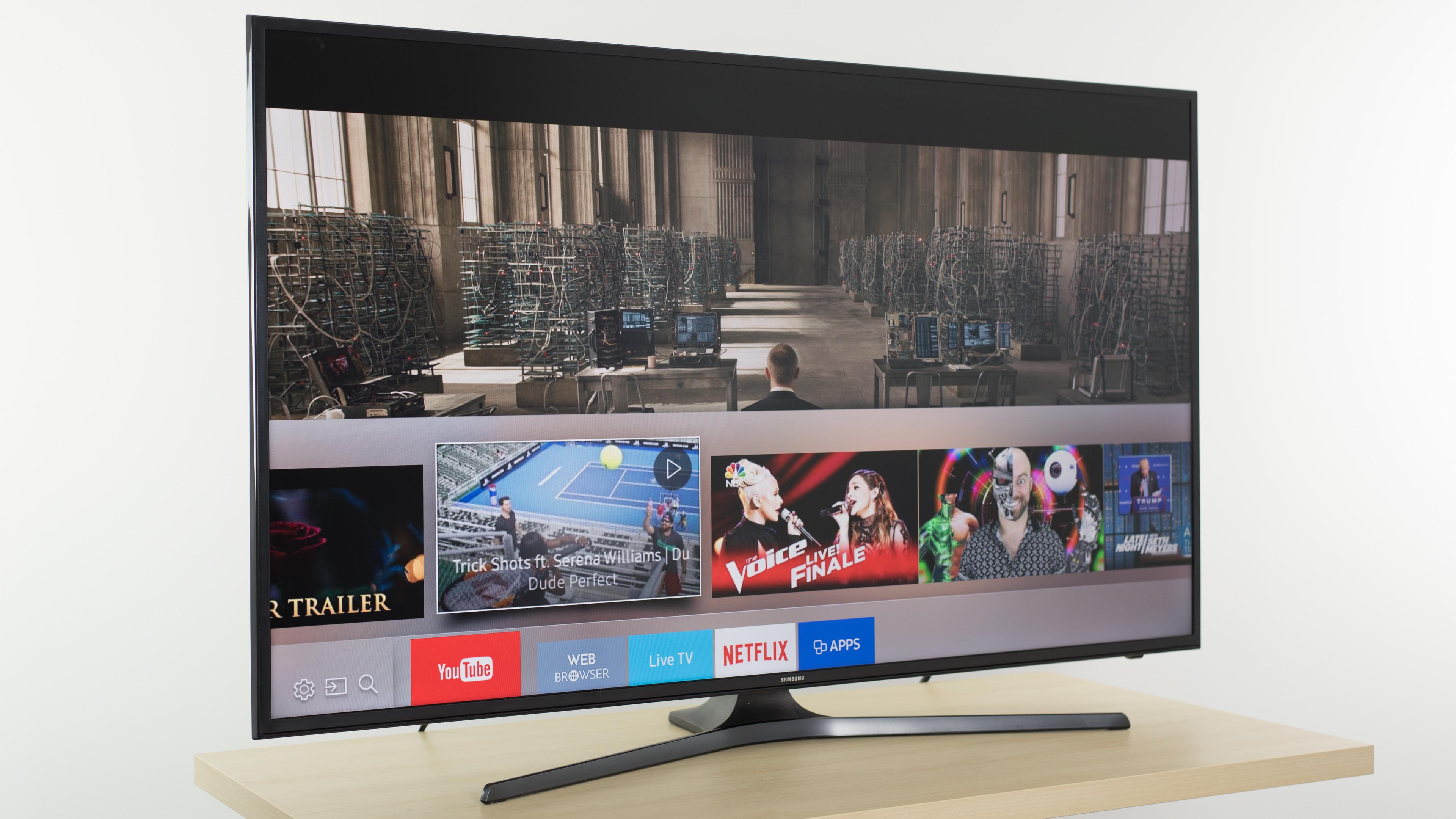 Samsung Ku6300 Review Un40ku6300 Un43ku6300 Un50ku6300  # Modeles De Table De Television