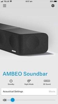 Sennheiser AMBEO Soundbar App image