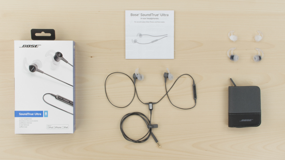 Bose SoundTrue Ultra In-Ear In the box Picture