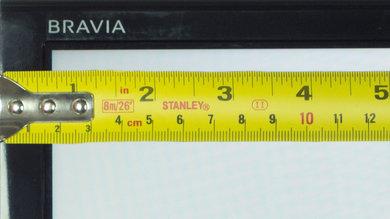 Sony X810C Borders Picture