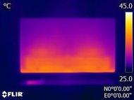 Samsung MU9000 Temperature picture