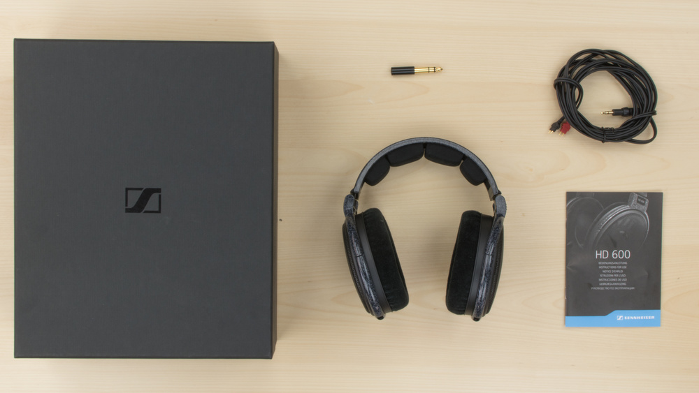 Sennheiser HD 600 In the box Picture