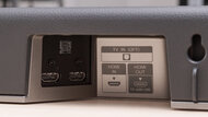 Sony HT-X8500 Physical inputs bar photo 1