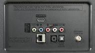 LG LH5750 Rear Inputs Picture