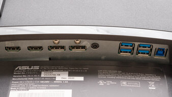 ASUS TUF Gaming VG34VQL1B Inputs 1