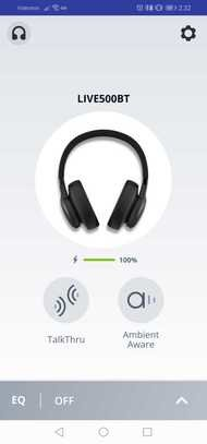 JBL Live 500BT Wireless App Picture