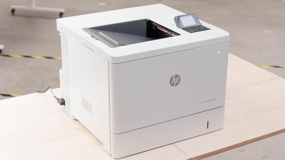 HP Color LaserJet Enterprise M554dn Picture