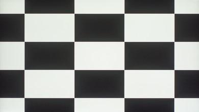 LeEco Super4 Checkerboard Picture