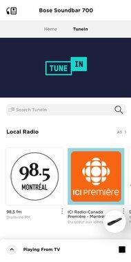 Bose Soundbar 700 with Speakers + Bass Module App image