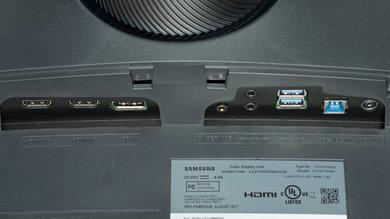 Samsung CHG70 Inputs 1