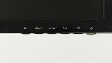ASUS VG248QE Controls picture