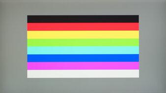 Dell UltraSharp U2520D Color Bleed Horizontal