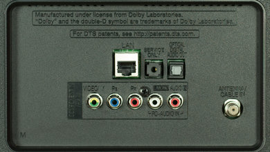 LG LF6100 Rear Inputs Picture