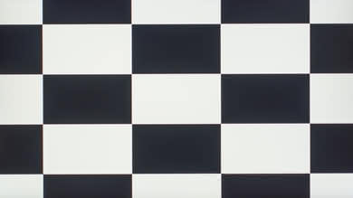 LG 27UK650 Checkerboard Picture