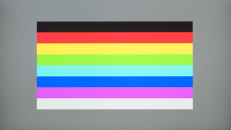 Dell UltraSharp U2720Q Color Bleed Horizontal