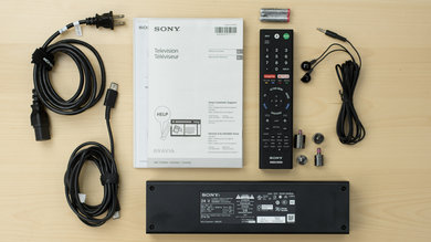 Sony X930E In The Box Picture