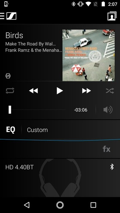 Sennheiser HD 4.40 BT Wireless App Picture