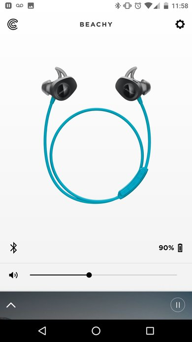 App support Bose SoundSport