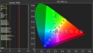 Hisense A6G Color Gamut DCI-P3 Picture