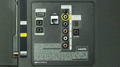Samsung H5500 Rear Inputs
