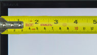 Sony X900C Borders Picture