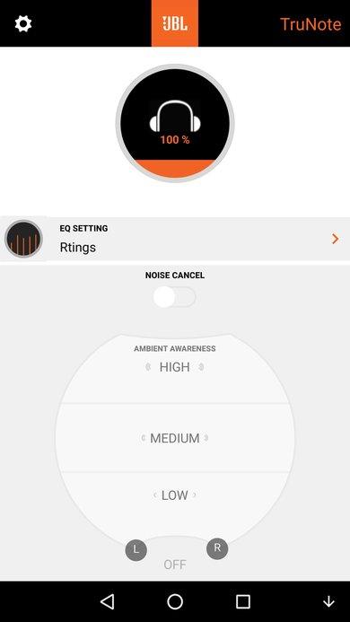 JBL Everest Elite 700  App Picture