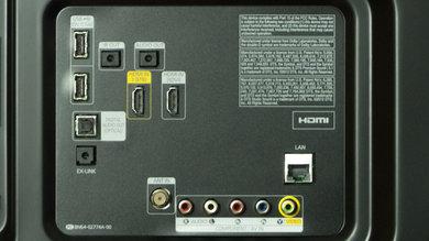 Samsung H6203 Rear Inputs