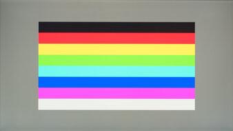 LG 27GP850-B Color Bleed Horizontal