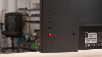Acer Predator XB273U GXbmiipruzx Controls Picture