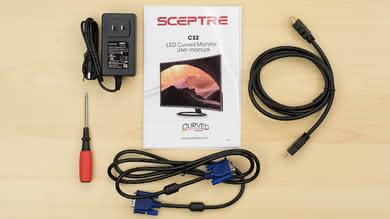 Sceptre C325W In The Box picture