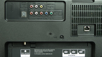 Sony W800B Rear Inputs