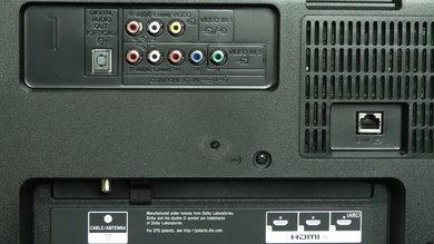 Sony W800B Rear Inputs