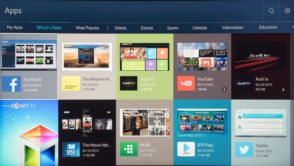 Samsung JU6700 Smart TV Picture