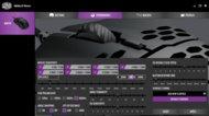 Cooler Master MM710 Software settings screenshot