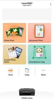 Canon PIXMA G3260 App Printscreen