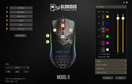Glorious Model O- Software settings screenshot
