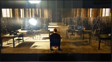 LG LA6200 Bright scene in a bright room