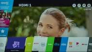 LG UK7700 Smart TV Picture