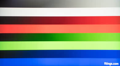 Samsung Q7CN Gradient Picture
