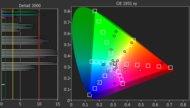 Samsung MU6290 Color Gamut Rec.2020 Picture