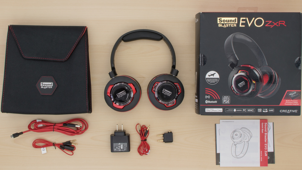 Creative Sound Blaster EVO ZxR In the box Picture