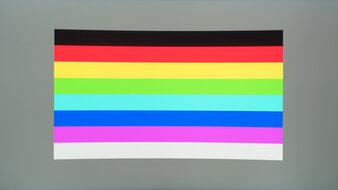Samsung Odyssey G7 Color Bleed Horizontal