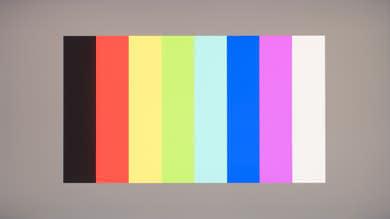 Acer Predator X27 Color bleed vertical