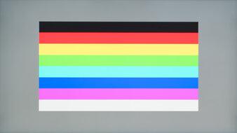 Acer Nitro XV272U KVbmiiprzx Color Bleed Horizontal
